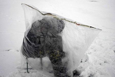 Для зимней рыбалки выбираем